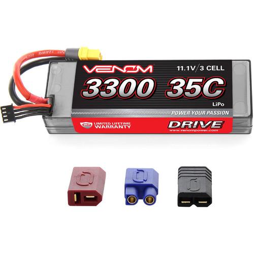 Venom Group Venom 35C 3S 11.1V 3300mAh Hard Case Lipo Battery With Universal Plug System