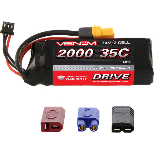 Venom Group Venom 35C 2S 2000mAh 7.4V Lipo Battery With Universal Plug