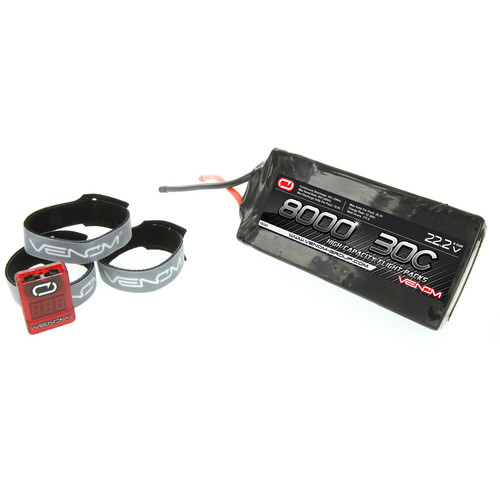 Venom Group 8,000mAh LiPo Battery (22.2V)
