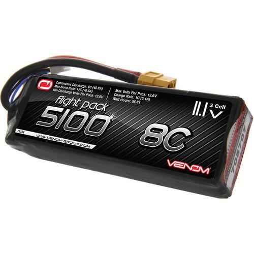 Venom Group 5100mAh LiPo Battery with XT60 Connector (11.1V)