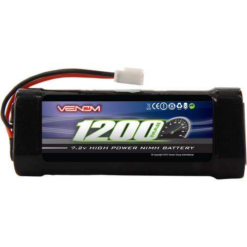 Venom Group Venom 7.2V 1200mAh 6 Cell 2/3A NiMH Battery With Micro Molex Plug