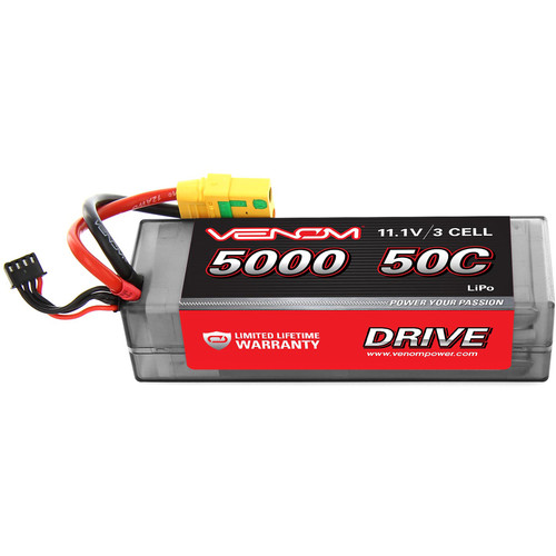 Venom Group 50C 3S 5000 mAh 11.1V LiPo Hardcase Battery with XT90-S Plug for Arrma Nero