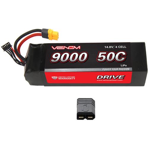 Venom Group DRIVE Series Traxxas X-Maxx RC 50C 4S 9000mAh 14.8V LiPo Battery
