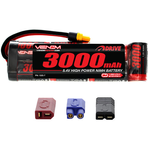 Venom Group DRIVE Series 3000mAh 7S 8.4V NiMH Battery Flat Pack with UNI 2.0