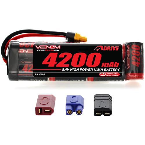 Venom Group DRIVE Series 4200mAh 7S 8.4V NiMH Battery Flat Pack with UNI 2.0