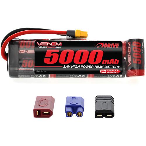 Venom Group DRIVE Series 5000mAh 7S 8.4V NiMH Battery Flat Pack with UNI 2.0