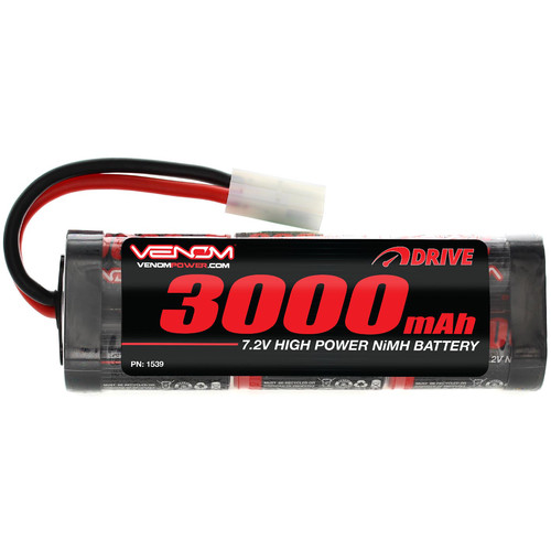 Venom Group Venom 7.2V 3000mAh 6 Cell NiMH Battery For Roto Start And Starter Boxes