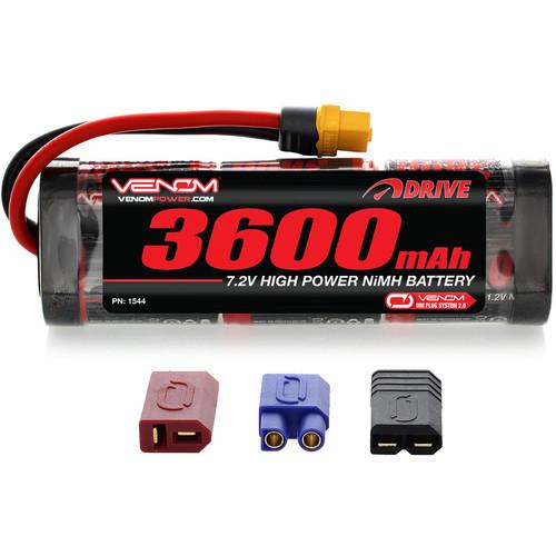 Venom Group Venom 7.2V 3600mAh 6 Cell NiMH Battery With Universal Plug System