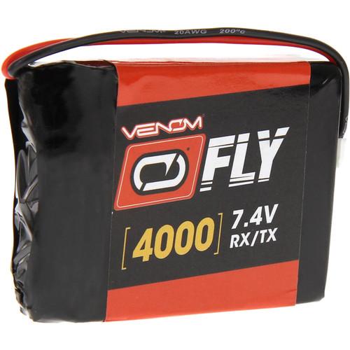 Venom Group Spektrum Dx9/Dx7S/Dx8/Dx6 Gen 2/3 4000mAh 7.4V Transmitter Lipo Battery By Venom