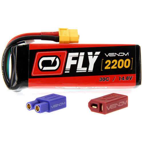 Venom Group Venom FLY 30C 4S 2200mAh 14.8V LiPo Battery with UNI 2.0 Plug