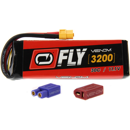 Venom Group Fly 30C 3S 3200mAh LiPo Battery with UNI 2.0 Connector (11.1V)