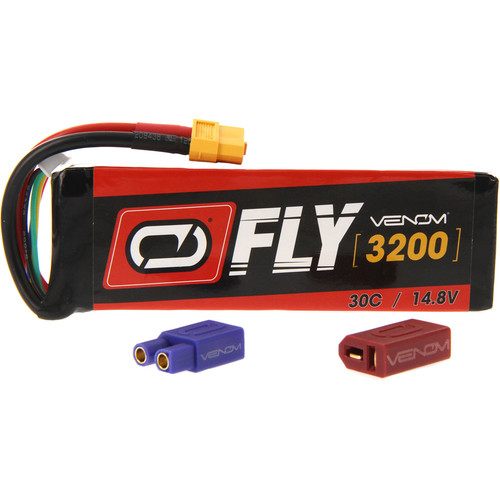 Venom Group Fly 30C 4S 3200mAh LiPo Battery with UNI 2.0 Connector (14.8V)