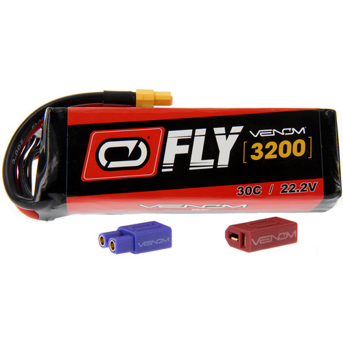 Venom Group Fly 30C 6S 3200mAh LiPo Battery with UNI 2.0 Connector (22.2V)