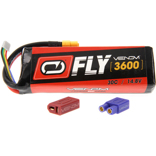 Venom Group Fly 30C 4S 3600mAh LiPo Battery with UNI 2.0 Connector (14.8V)