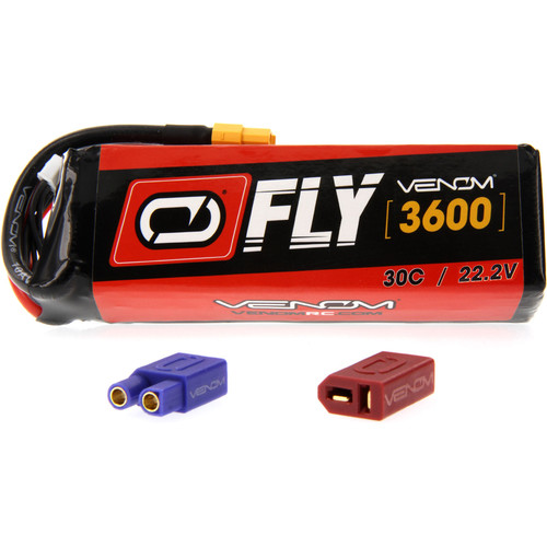 Venom Group Fly 30C 6S 3600mAh LiPo Battery with UNI 2.0 Connector (22.2V)