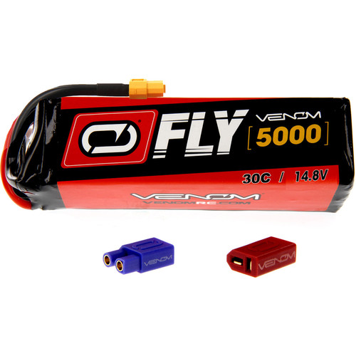 Venom Group Fly 30C 4S 5000mAh LiPo Battery with UNI 2.0 Connector (14.8V)