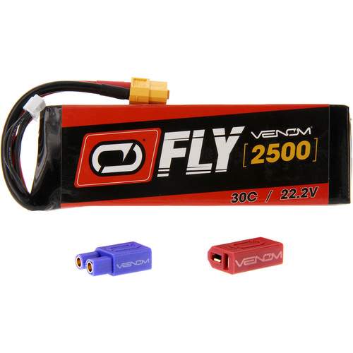 Venom Group Fly 30C 6S 2500mAh LiPo Battery with UNI 2.0 Connector (22.2V)
