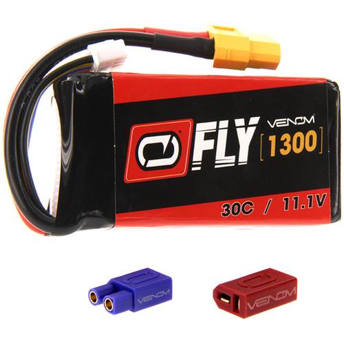 Venom Group Venom FLY 30C 3S 1300mAh 11.1V LiPo Battery with UNI 2.0 Plug (Single)