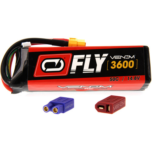 Venom Group Fly 50C 4S 3600mAh LiPo Battery with UNI 2.0 Connector (14.8V)