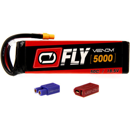 Venom Group Fly 50C 5S 5000mAh LiPo Battery with UNI 2.0 Connector (18.5V)