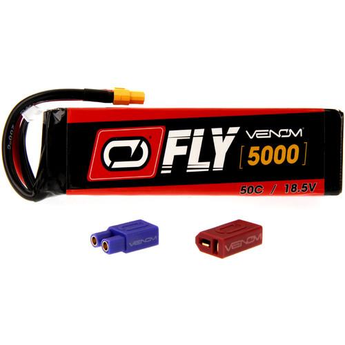Venom Group Fly 50C 5S 5000mAh LiPo Battery with UNI 2.0 Connector (18.5V)