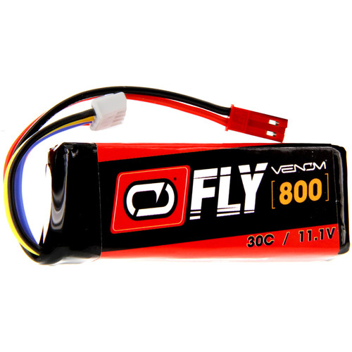 Venom Group Fly 30C 3S 800mAh LiPo Battery with JST Connector (11.1V)