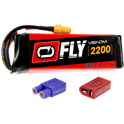 Venom Group Fly 30C 3S 2200mAh LiPo Battery with UNI 2.0 Connector (11.1V)