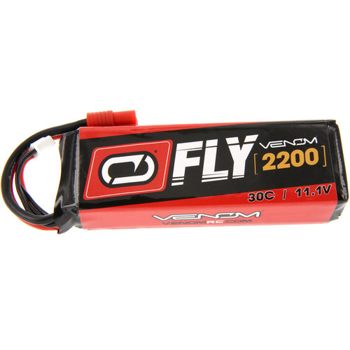 Venom Group 30C 3S 2200mAh LiPo Fly Battery with Flyzone Super Tigre HXT Connector (11.1V)