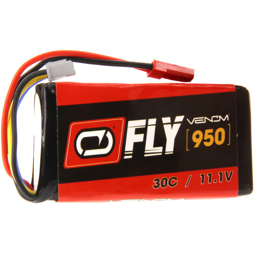 Venom Group Fly 30C 3S 950mAh LiPo Battery with JST Connector (11.1V)