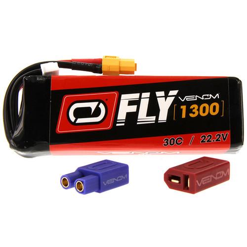 Venom Group Fly 30C 6S 1300mAh LiPo Battery with UNI 2.0 Connector (22.2V)