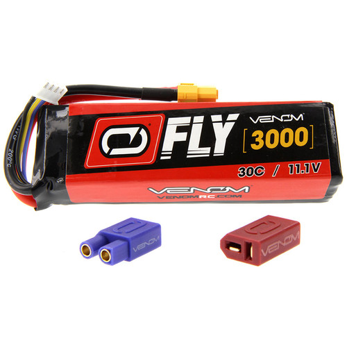 Venom Group Fly 30C 3S 3000mAh LiPo Battery with UNI 2.0 Connector (11.1V)