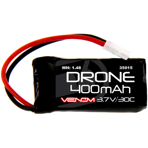 Venom Group 30C 1S 400mAh LiPo Micro Drone Battery with Micro Losi Connector (3.7V)