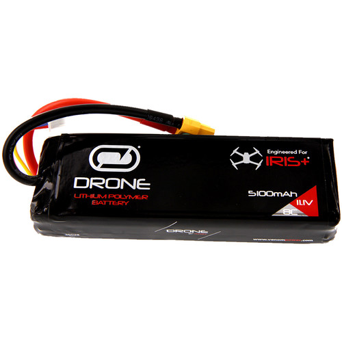 Venom Group 3S 5100mAh LiPo Battery with XT60 Connector for 3DR Iris+ Quadcopter (11.1V)