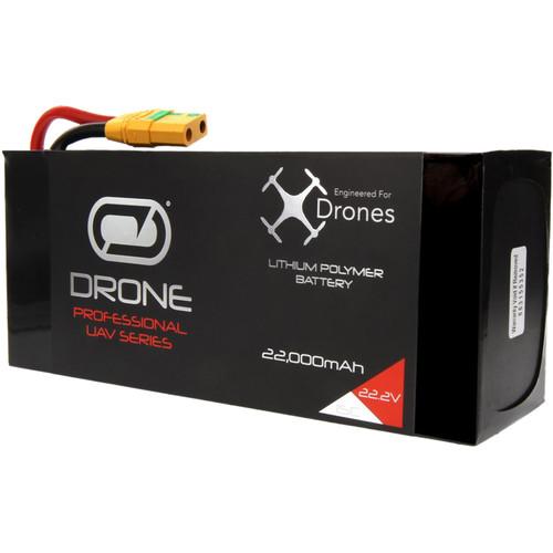 Venom Group Venom 22000mAh 6S 22.2V Drone Professional Battery, 15C Lipo With Xt90-S Plug