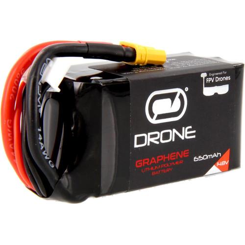 Venom Group Venom Graphene 75C 4S 650mAh 14.8V Drone Racing Lipo Battery With Xt30 Plug