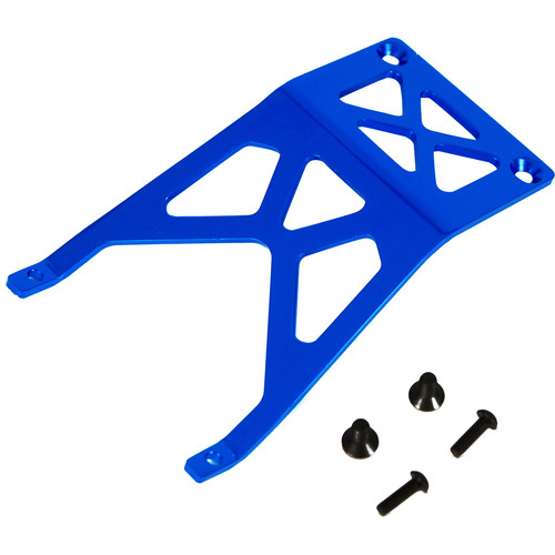 Atomik RC Front Skid Plate for Traxxas Stampede 1/10 Scale RC Monster Truck (Blue)