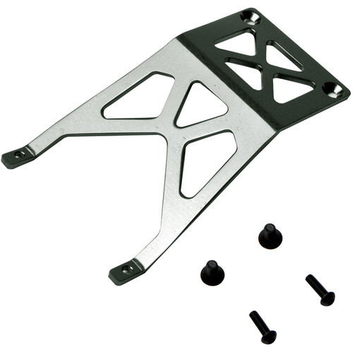 Atomik RC Front Skid Plate for Traxxas Stampede 1/10 Scale RC Monster Truck (Gray)