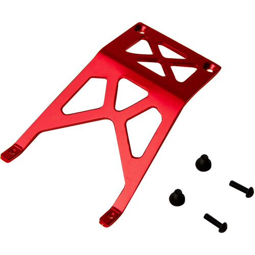 Atomik RC Front Skid Plate for Traxxas Stampede 1/10 Scale RC Monster Truck (Red)