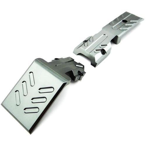 Venom Group Traxxas 1:10 E-Revo + Other TRX Models Alloy Front Skid Plate (Grey)