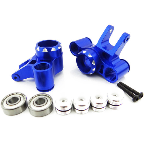Atomik RC Rear Axle Carrier for Traxxas T-Maxx 1/10 Scale RC Monster Truck (Blue)