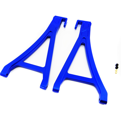 Atomik RC Front Lower Arm for Traxxas E-Revo 1/10 Scale RC Monster Truck (Blue)