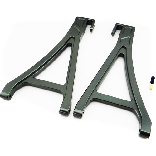 Atomik RC Front Lower Arm for Traxxas E-Revo 1/10 Scale RC Monster Truck (Gray)
