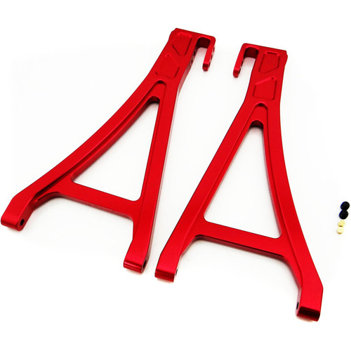 Venom Group Traxxas 1:10 E-Revo + Other TRX Models Alloy Front Lower Arm (Red)