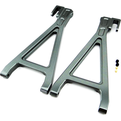 Venom Group Traxxas 1:10 E-Revo + Other TRX Models Alloy Rear Lower Arm (Grey)