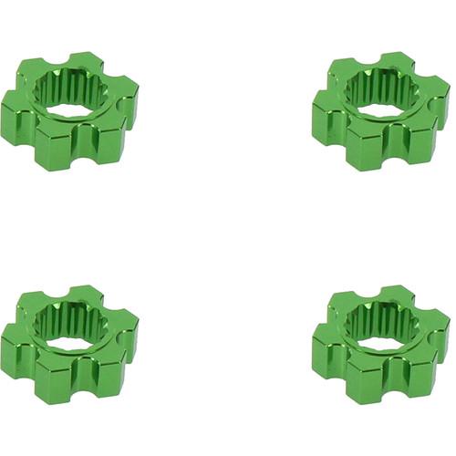 Venom Group Traxxas X-Maxx Alloy Hex Adaptor (Green)