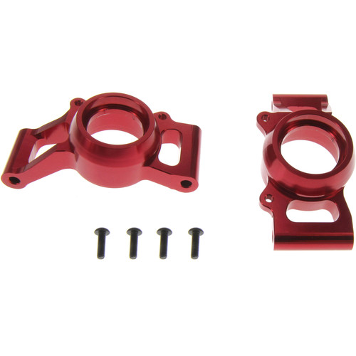 Atomik RC Rear Hub Carrier for Traxxas X-Maxx RC Monster Truck (Red)