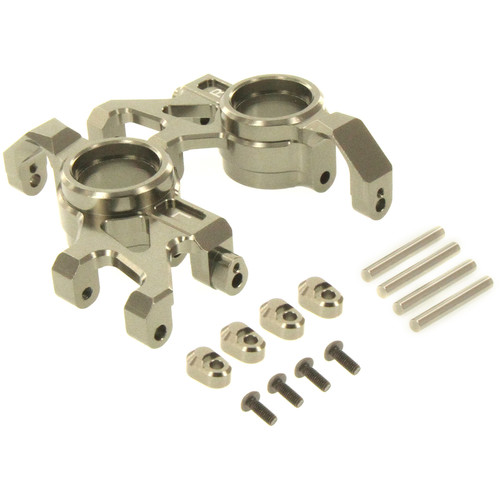Atomik RC Steering Block for Traxxas X-Maxx RC Monster Truck (Gray)