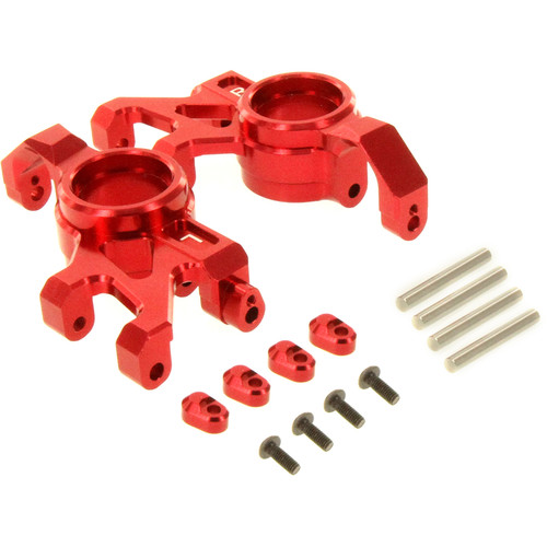 Atomik RC Steering Block for Traxxas X-Maxx RC Monster Truck (Red)