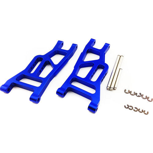 Venom Group Traxxas 1:10 Slash + Other Trx Models Alloy Front Lower Arm (Blue)