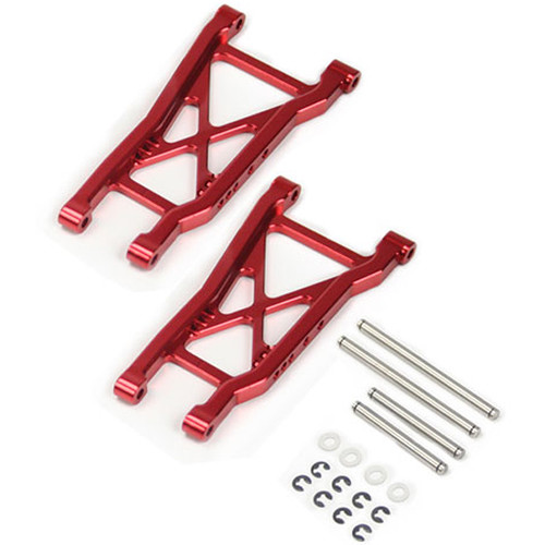 Atomik RC Rear Lower Arm for Traxxas Slash 1/10 Scale RC Short-Course Truck (Red)